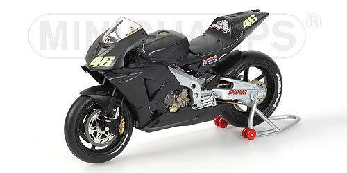 Honda RC211V  Testbike 2002 nera V.Rossi   122027946  1 12 Minichamps