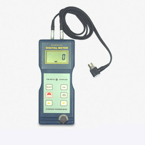 TM-8810 Ultrasonic Thickness Gauge 0.1 mm Resolution 1.5~200 mm 0.06~8 inch