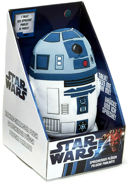 STAR WARS R2-D2 talking plush toy plüsch 23cm