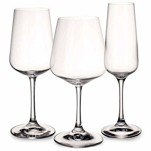 Wine Glass Set 12 rouge blanc Champagne Bar Kitchen Home Gift Wedding Stemware New