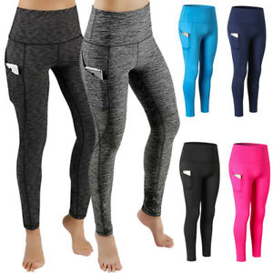 Women-Workout-Running-Yoga-Tights-with-Pocket-Slimming-Dri-fit-Long-Pants-US-X82