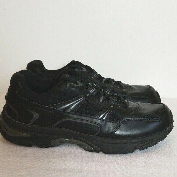 Vionic Black Leather Walker Sneaker Womens Size 8.5