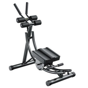 foldable adjustable weight abdominal machine for indoor