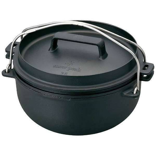 Japan Snowpeak CAST IRON OVEN 26 cm Dutch Oven  CS-520 F S  take up to 70% off