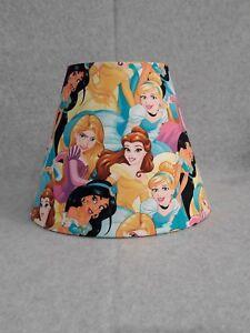 Details About Disney Princess Lamp Shade Rapunzel Cinderella Belle Jasmine