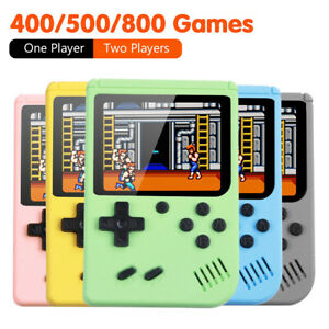 """Handheld Retro Game Console Built-In 800 Classic Game 3"""" Screen Gift 2-Players"""