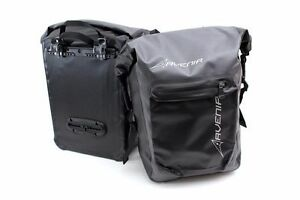 Image Is Loading Raleigh Avenir Waterproof Large Bike Pannier Bags Pair