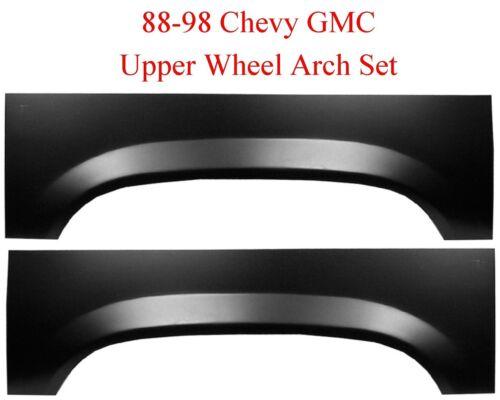88 98 Chevy GMC Upper Rear Wheel Arch Repair Panel Set L/&R Truck 1500 2500 Truck