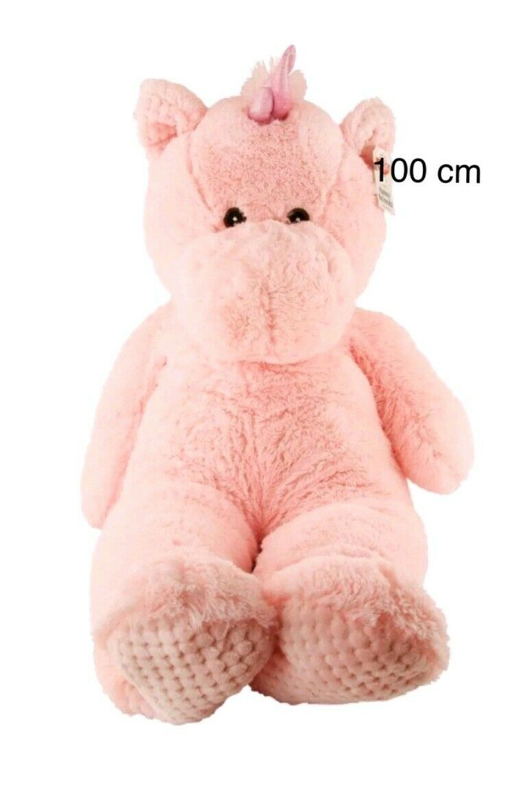 100cm Pink Unicorn Plush SOFT TOY TEDDY Long LARGE GIANT Kids Girl Game Toy Gift