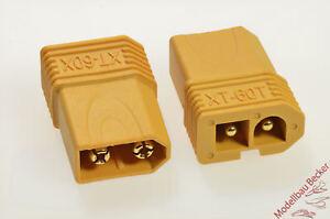 Adapterstecker-gelb-XT60-Stecker-Tamiya-Stecker-kompatibel