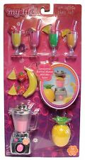 My Life As All American Girl Doll Smoothie Play Set w/ Blender and Fruit * NEW *
