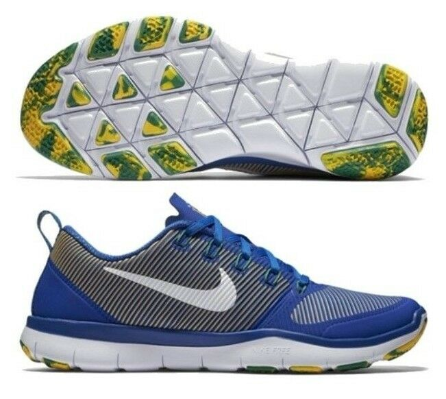 NIKE BRAZIL FREE TR VERSATILITY AMP TRAINING SHOES Gym Royal.