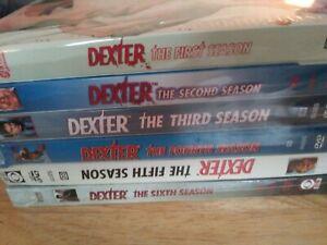 NEW-DEXTER-TV-Series-Seasons-1-6-in-sealed-packaging-never-opened-DVD