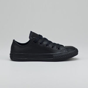 Image is loading Converse-Kids-Youth-C-T-A-S-Ox-Leather-Trainers-UK- 440c6db46