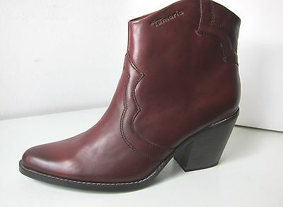 Stiefelette, Wildleder Optik, für Damen, 24 BRANDY, 41