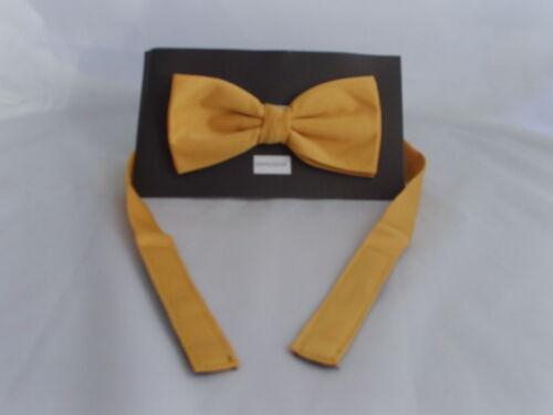Tartan and Plain Polyester Plain Yellow Bow Tie P/&P 2UK/>1st Class 2 Hankies