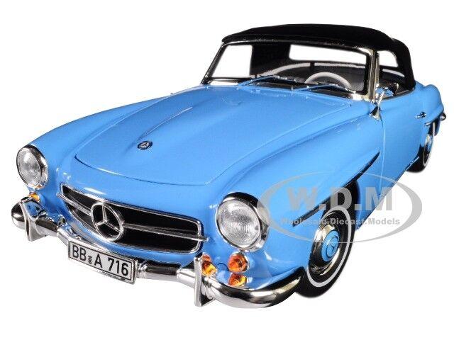 Mercedes Benz 190SL 1955 blau 1:18 Norev