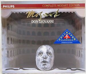 Mozart-Don-Giovanni-CD-Nov-1991-3-Discs-Philips-Collector-Classics-New