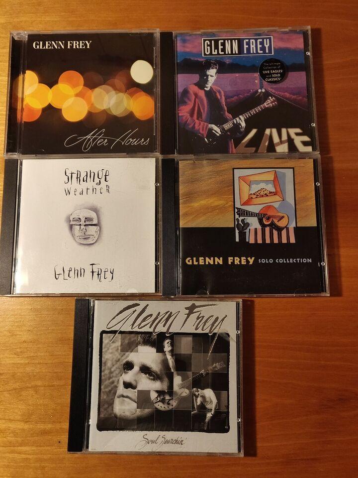 Glenn Frey: Blandede, rock