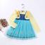 Girls Kids Fairy Snow White Princess Dress Sofia Alice Mermaid Halloween Costume