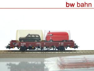 Liliput-h0-l231121-Ferry-Rungenwagen-rbmms-de-la-DB-2-Voiture-NEUF