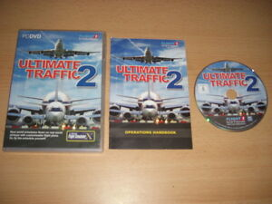 ULTIMATE-TRAFFIC-2-Pc-Cd-Rom-Add-On-Expansion-Pack-Flight-Simulator-FSX-FS-X