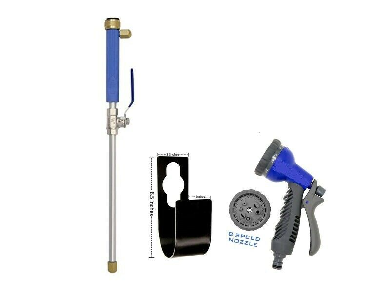 Hook + Nozzle + Water Jet Accessory Package Deal For Xhose Or Expanding Hose