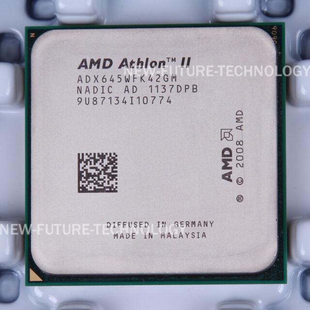 AMD Athlon II X4 645 (ADX645WFK42GM) CPU Processor 667/3.1GHz Socket AM3 100% OK