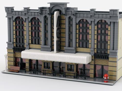 "LEGO MODULAR BROADWAY ""ACE"" THEATERCUSTOM MOCLDD FILE"