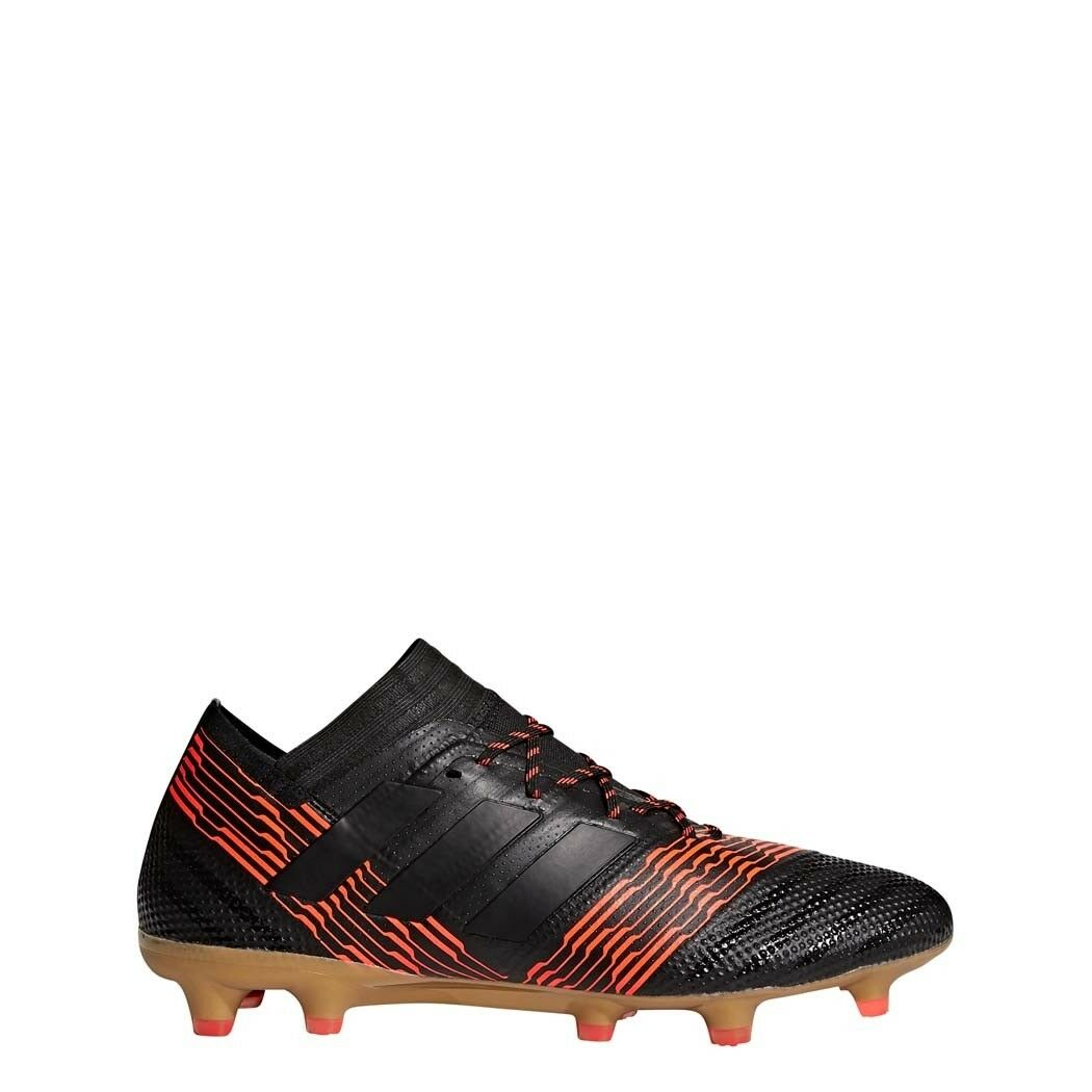 Adidas nemeziz 17.1 FG botas de futbol soccer botas negro rojo [cp8932]