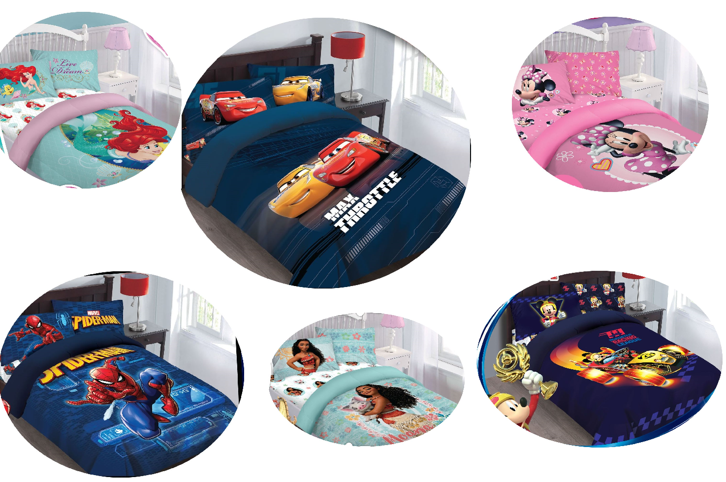 Stupendous Disney Favorites Bed In A Bag Comforter Bed Set With Fitted Sheet Kids Teens Ibusinesslaw Wood Chair Design Ideas Ibusinesslaworg