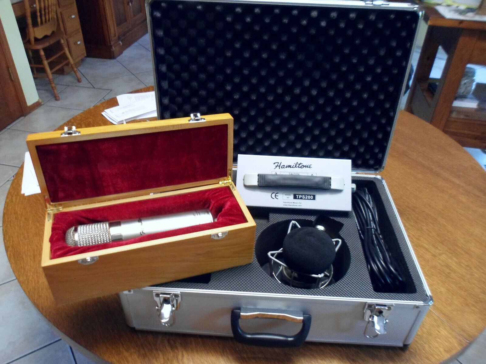 Hamiltone Large Diaphragm Condenser Tube Mic Studio Microphone