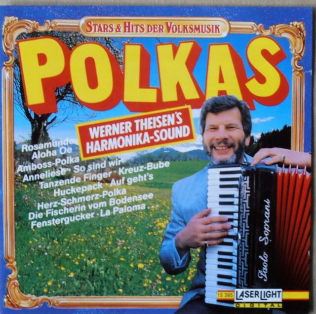 Werner Theisen's Harmonika Sound - Polkas - CD