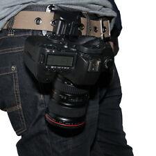 Universal DSLR Digital Camera Waist Belt Holster Quick Strap Buckle Hanger Clip