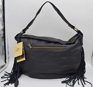 36b3fa690e9b Image is loading H686-NWT-Patricia-Nash-Vincenzo-Slouchy-Hobo-NAVY-