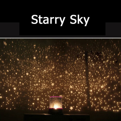 amazing led starry night sky projector lamp star light cosmos master kids gift ebay. Black Bedroom Furniture Sets. Home Design Ideas