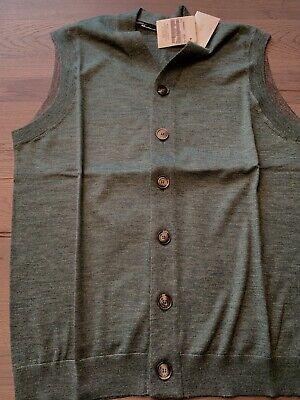 Brunello Cucinelli Cashmere Weste Vest Strickjacke Pullover Cardigan Jacke 48