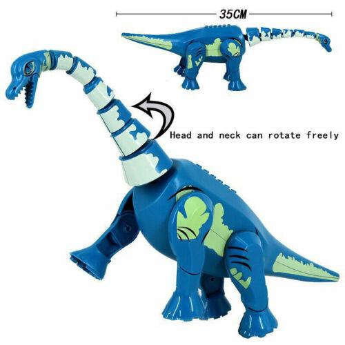 Cartoon Dinosaur Animal Building Blocks Bricks Models Children Educational Toys