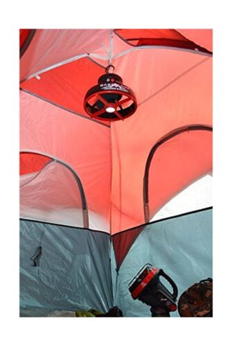 Tent Fan with LED Light