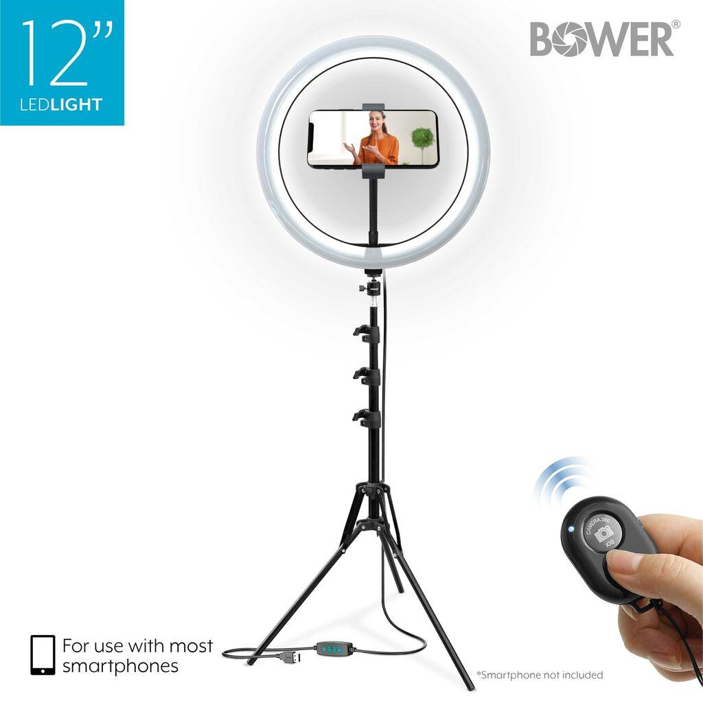 Bower WA-SL12 12inches LED Selfie Ring Studio Light   Ebay