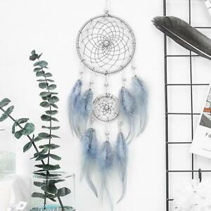 Handmade-Dream-Catcher-With-Feathers-Car-Wall-Hanging-Decoration-Gifts-Ornament