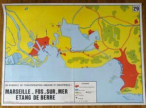 carte d'école - affiche scolaire 1960 Rossignol ...