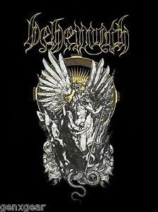 BEHEMOTH-cd-lgo-O-FATHER-O-SON-O-SATAN-Official-SHIRT-LAST-SM-New-OOP-satanist