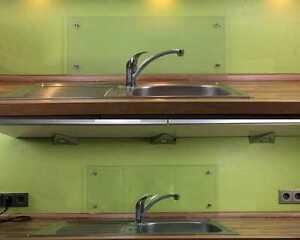 ESG 4mm Glasplatte Küchenrückwand Fliesenspiegel Spritzschutz ...
