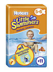 Huggies Little Swimmers Size 5 - 6 Total of 22 Swimming Nappies Baby Toddler