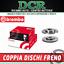 Coppia Dischi Freno BREMBO 09.9728.11 SUZUKI IGNIS II MH 1.3 DDiS 70CV 51KW