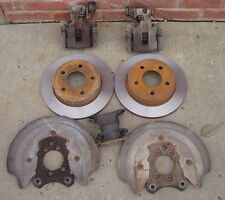 Rear disc brake kit 79-93 Ford Mustang GT 5 lug SN95 calipers turned rotors
