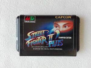 Street-Fighter-2-II-Dash-Plus-MD-Genesis-CAPCOM-Sega-Mega-Drive-From-Japan