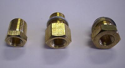 """Adapter für Geber ,Fühler Temperaturanzeige Oeldruckanzeige M14x1,5,M12x1,5,1/4"""""""