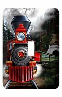 Metal Railroad Light Switch Cover Railroad And Train Theme Kids Room Decoration